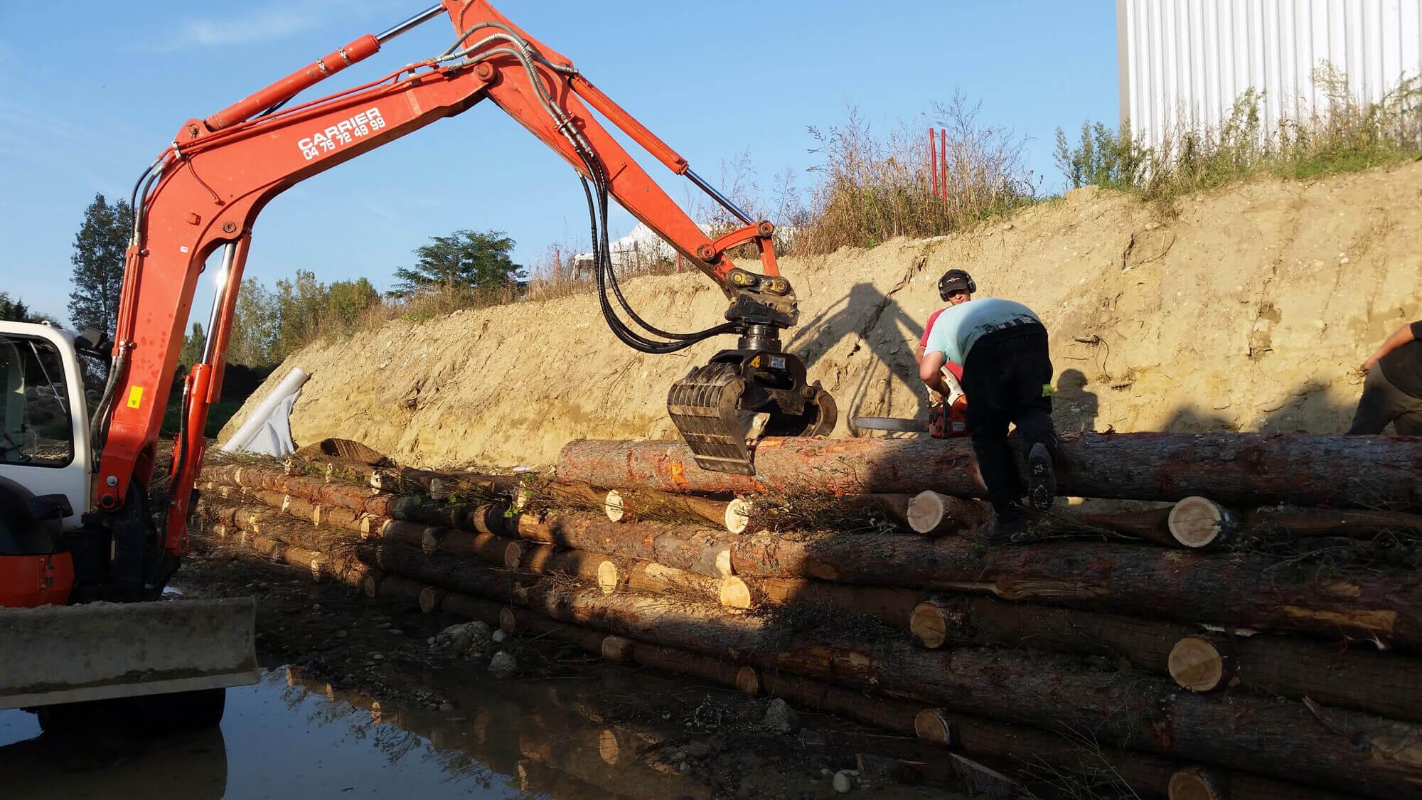 Mur De Soutenement Bois En Kit : de mur bois en kit fabrication installation am?nagement de
