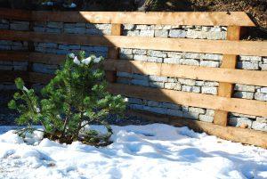 mur soutenement bois