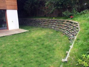 mur bois en kits