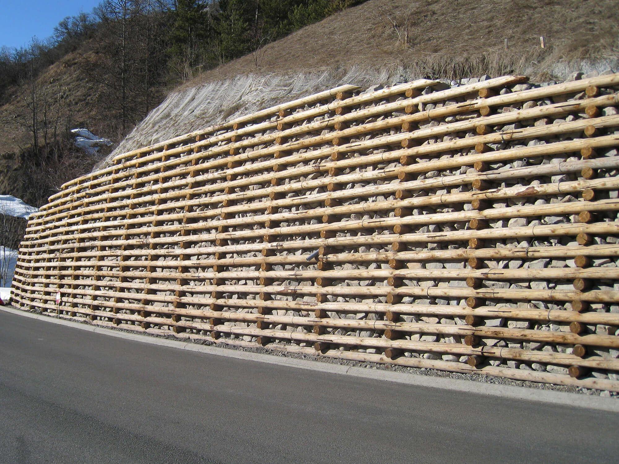 Construction & Pose de murs type Gabion - Dynamique Environnement