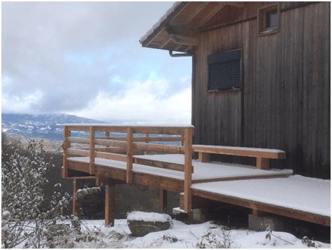 Terrasse Sur Pilotis Ou Soutenement Dynamique Environnement
