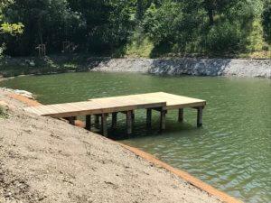 pontons bois pique pierre